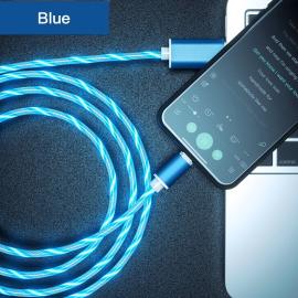 USB C LED Flow Light Ladekabel mit Magnet Stecker