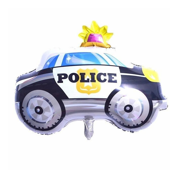 Mittelgrosses Polizei Auto Ballon