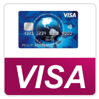 Bild von VISA Kreditkarte